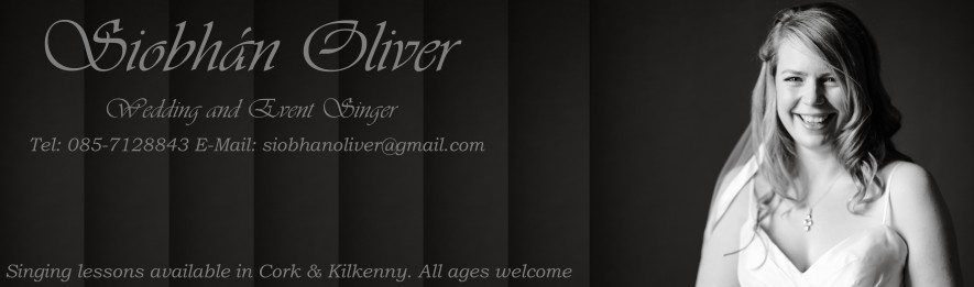Siobhan Oliver Wedding Singer And Voice Teacher